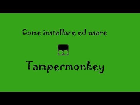 SCARICA TAMPERMONKEY
