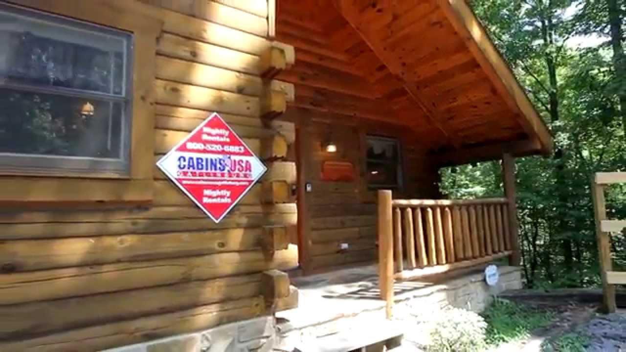 Hanky Panky 1 Bedroom Honeymoon Cabin Rental In Pigeon Forge Cabins Usa 2013