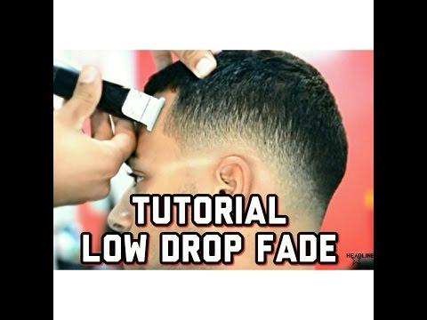 drop fade haircut
