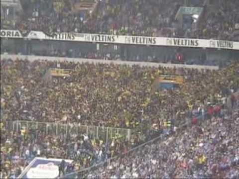 Derbysieg!  Schlacke 04 - BVB 1-2 - 14.05.2005 - Schlacke - Borussia Dortmund ,