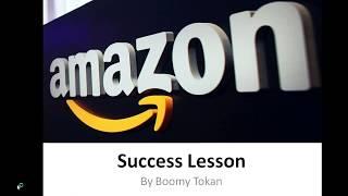 Jeff Bezos (Amazon): 5 Steps To Success! By Boomy Tokan