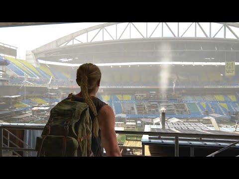 Abby WLF Stadium Base Exploration - The Last of Us Part II