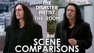 The Disaster Artist 2017 and The Room 2003 - scene comparisons