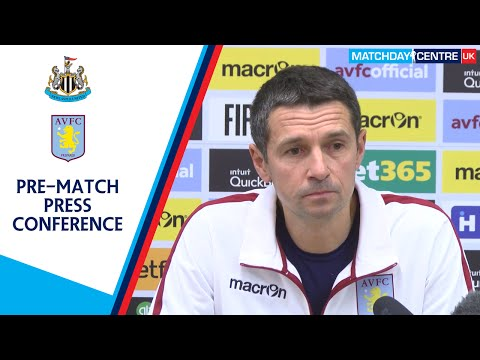 Remi Garde Pre-Newcastle United Match Press Conference