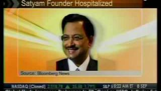 Satyam Founder Hospitalized - Bloomberg