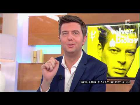 Benjamin Biolay se met à nu, suite - C à vous - 24/05/2017