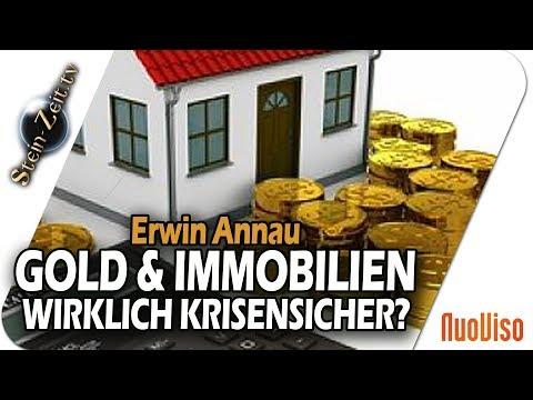 Immobilien und Gold - bei drohendem Crash wirklich sicher? - Erwin Annau bei SteinZeit