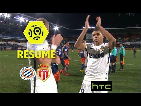 Montpellier Hérault SC - AS Monaco (1-2)  - Résumé - (MHSC - ASM) / 2016-17