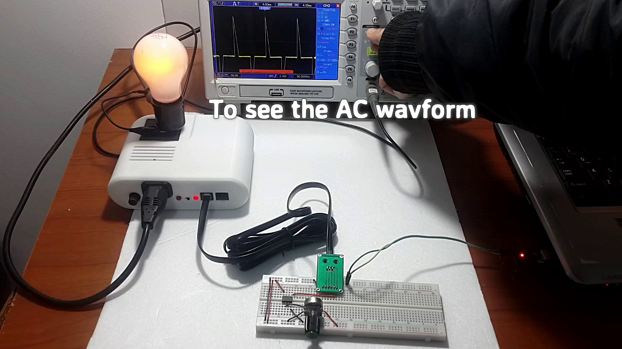 interesting ATtiny85 Control AC dimmer lamp using Potentiometer on