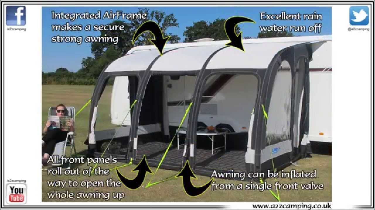 A2zcamping Present The All New Kampa Rally Air 390 Pro