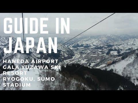 Haneda Airport, Ryogoku, Gala Yuzawa- Japan #1