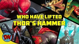 12 Characters Who Have Lifted Thor's Hammer | Explained in Hindi