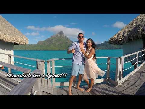 Honeymoon In Bora Bora, French Polynesia, May 2017