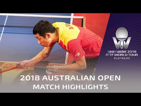 Tomokazu Harimoto vs Xu Xin | 2018 Australian Open Highlights (1/2)