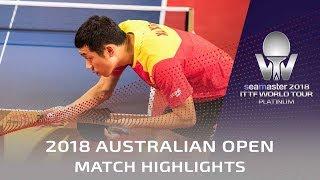 Tomokazu Harimoto vs Xu Xin | 2018 Australian Open Highlights (1/2)