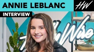 Annie LeBlanc Meets Fans & Answers Their Questions Live!! | Hollywire