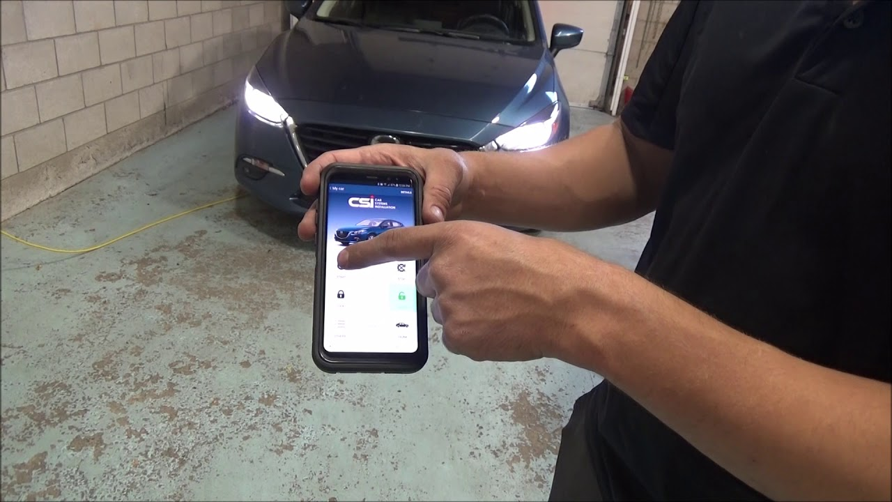 Mystart Smarthphone App For Remote Starters Mazda 3