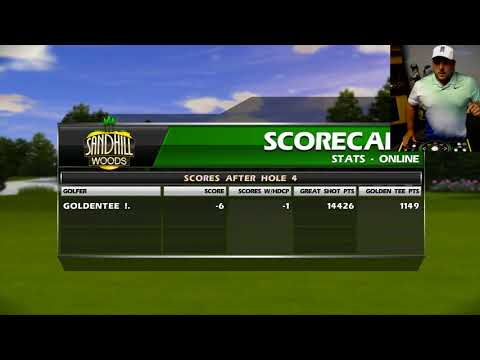 Golden Tee 2019: Sandhill Woods Six-Hole Preview - YouTube