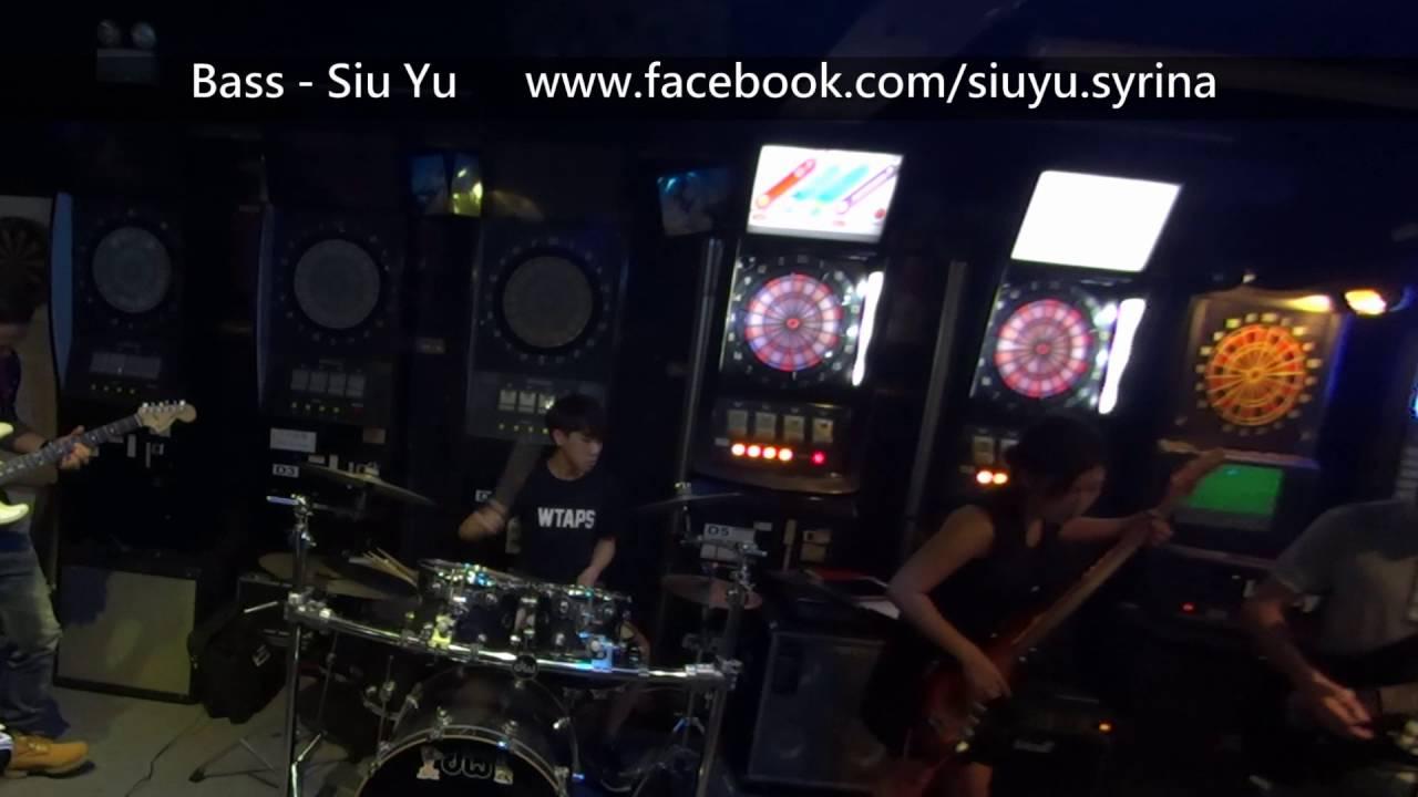 金屬狂人 Bass Syrina Siu Yu 低音結他手 小魚 與她的搖滾樂隊 Rock Band - YouTube