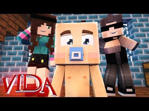 Minecraft Vida: O BEBÊ !! #01 (SÉRIE NOVA)