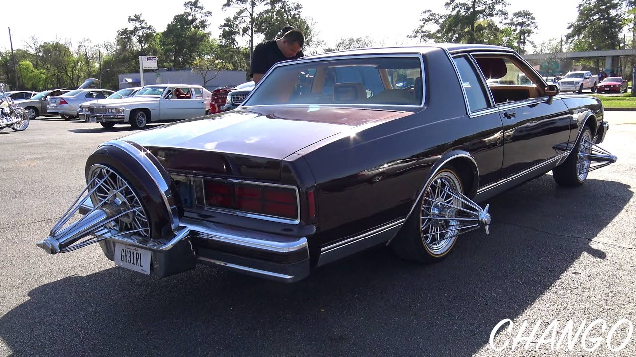 80s Model Chevy Caprice Classic Coupe Knocking