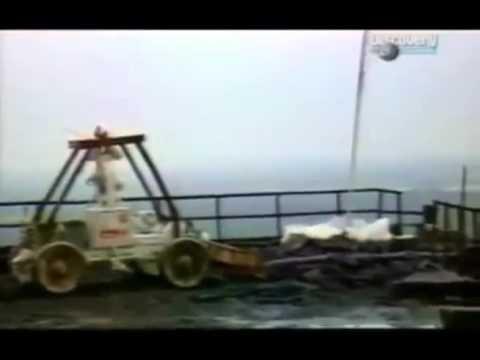 Рассекреченные съемки ликвидации чернобыльской аварии.