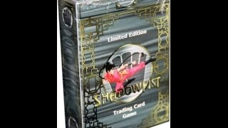 Unboxing the Shadowfist Limited Edition Starter Deck