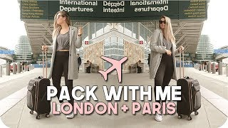 Pack with Me International Trip!