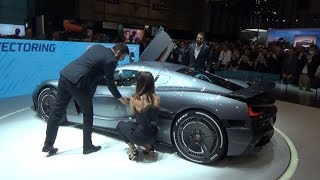 EXCLUSIVE: NEW RIMAC C_two! Mate Rimac talking about his new 1914 HP  hypercar in Geneva
