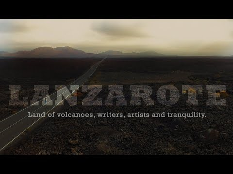 Lanzarote Aerial - Land of volcanoes, writers, artists and tranquility