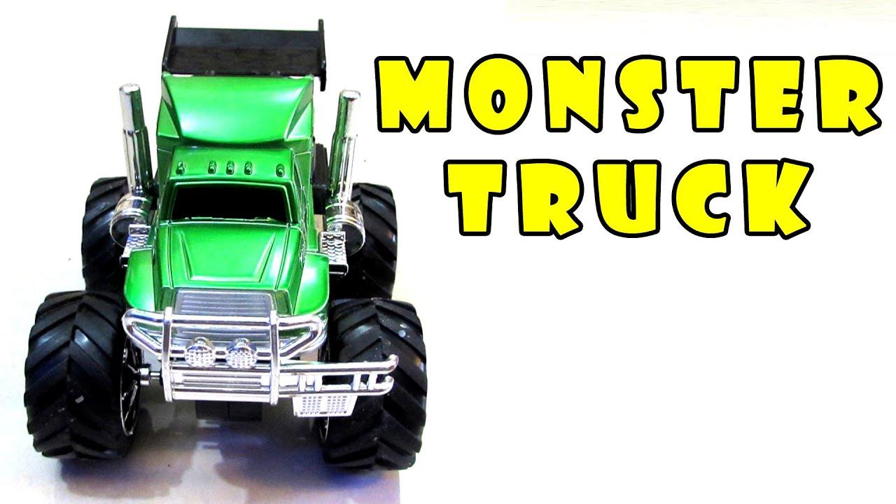 MONSTER TRUCK TOYS For Children, Kids Playtime, Hot Wheels ...