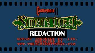 Castlevania II: Simon's Quest REDACTION