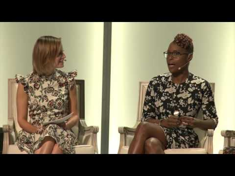 INSECURE's Issa Rae speaks at Glamour Women of the Year Live Summit