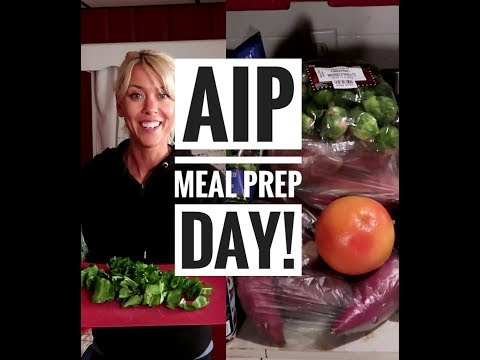 AIP Meal Prep/ Batch Cook session