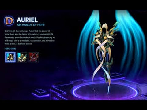 Heroes of the Storm - Auriel, Move that Crown!