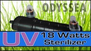 Odyssea UV Sterilizer 18w Review