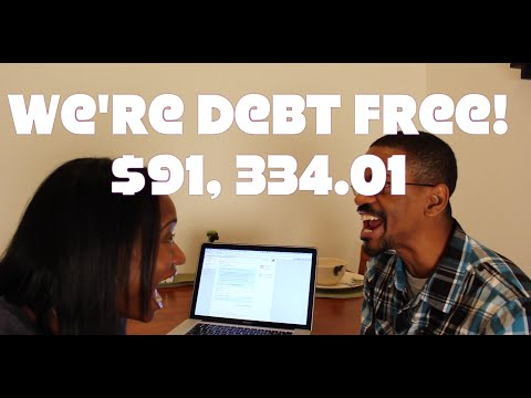 How We Paid Off Almost $100,000 Worth of DEBT!