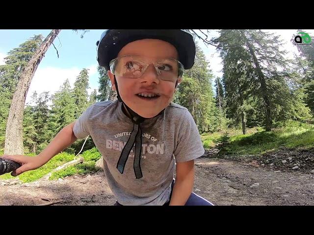 Aventuri pe bicicleta - Cu Alex la Glavoi
