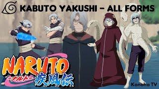 Kabuto Yakushi - All Forms & Character Growth