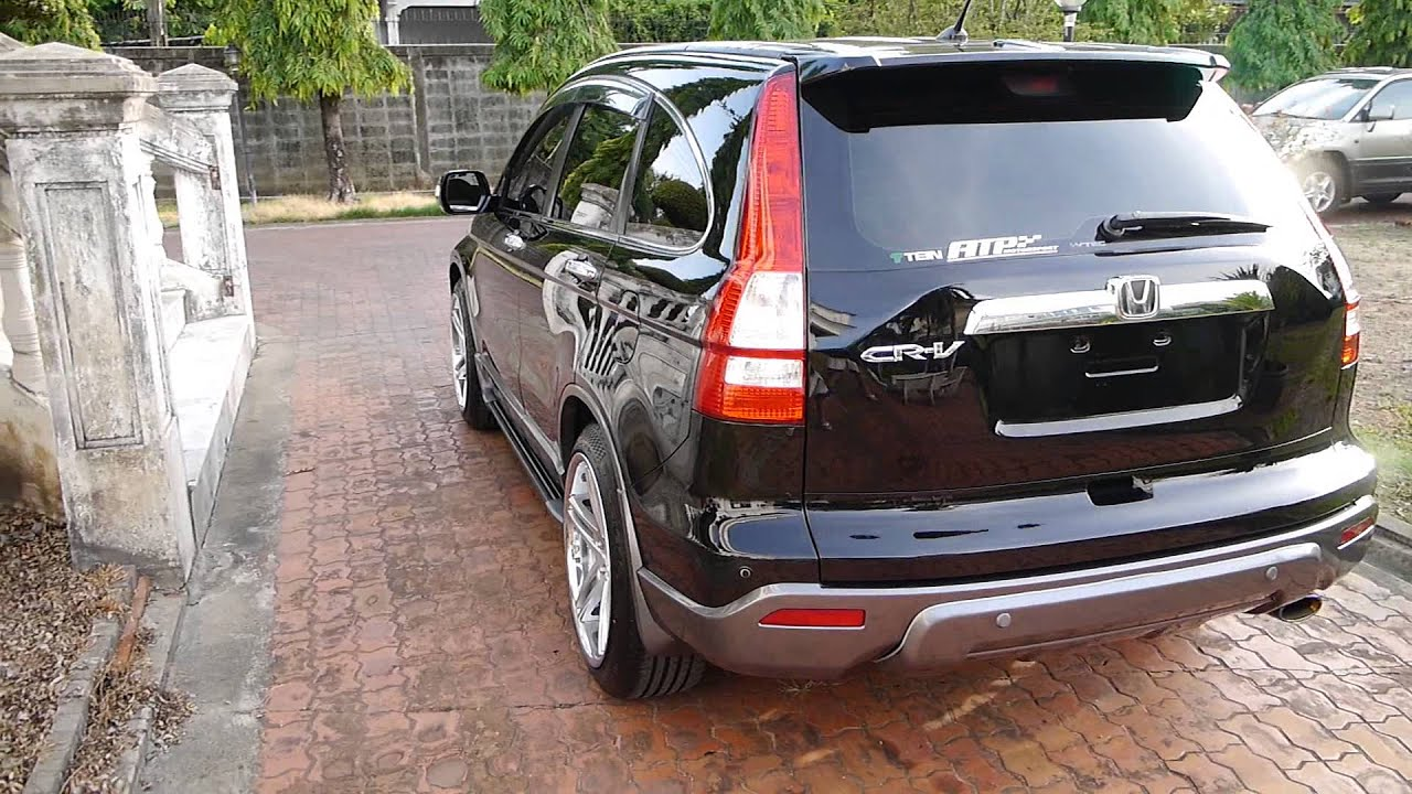Honda CRV With Crystal Glass Coating By Homie Car Detailing