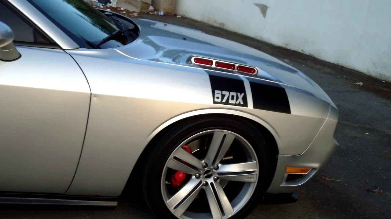 Sms Challenger With H Amp R Lowering Springs Youtube