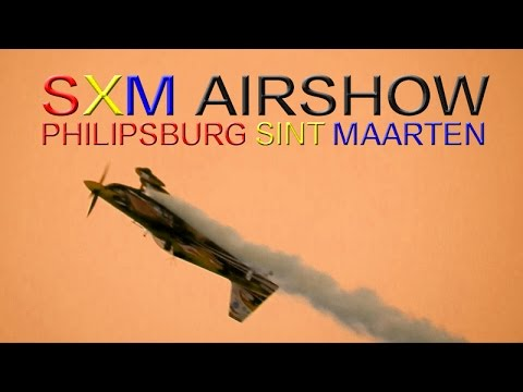 "SXM AIRSHOW ""Sunday""~ Philipsburg Boardwalk ~ WeBeYachting.com"