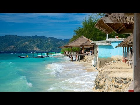 Gili Trawangan, Lombok Indonesia 'The tourist paradise'