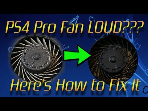 PS4 Pro Fan Noise Fix - Detailed Cleaning Tutorial