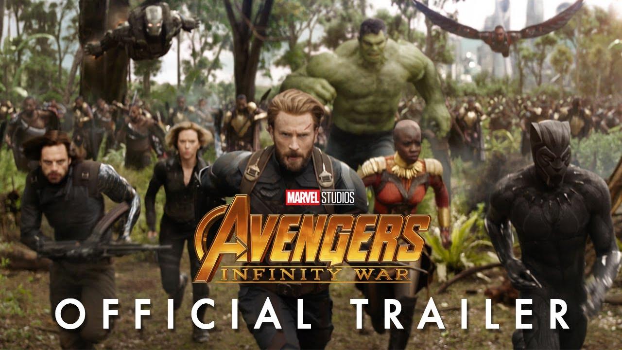 Funke Akindele and Avengers Infinity War Cast