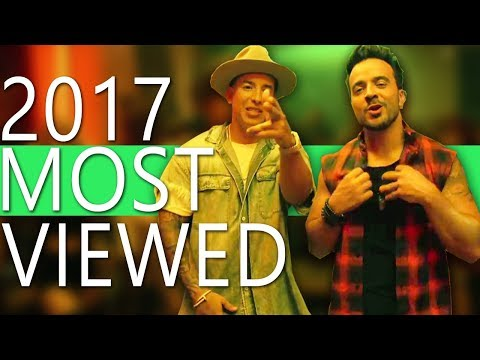 Top 100 Most Viewed Songs Of 2017 (So Far)