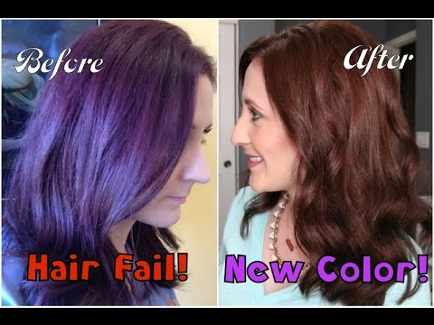 hair fail new hair color chit chat youtube