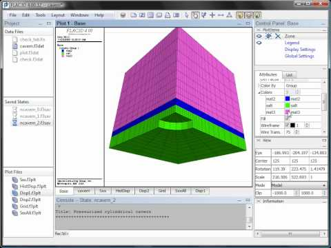 flac3d 4 0 feature tour parts 1 4 youtube rh youtube com Itasca Software Itasca Group