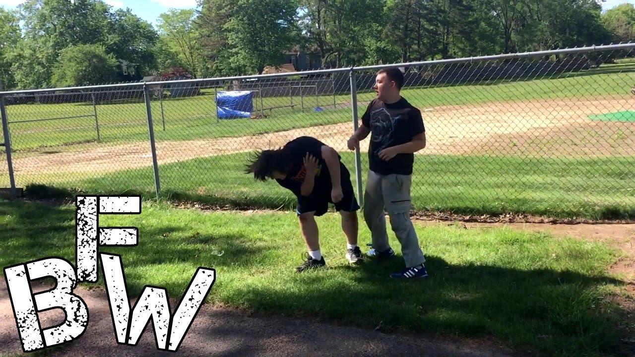 backyard wrestling tj raze vs kevin sarrow youtube