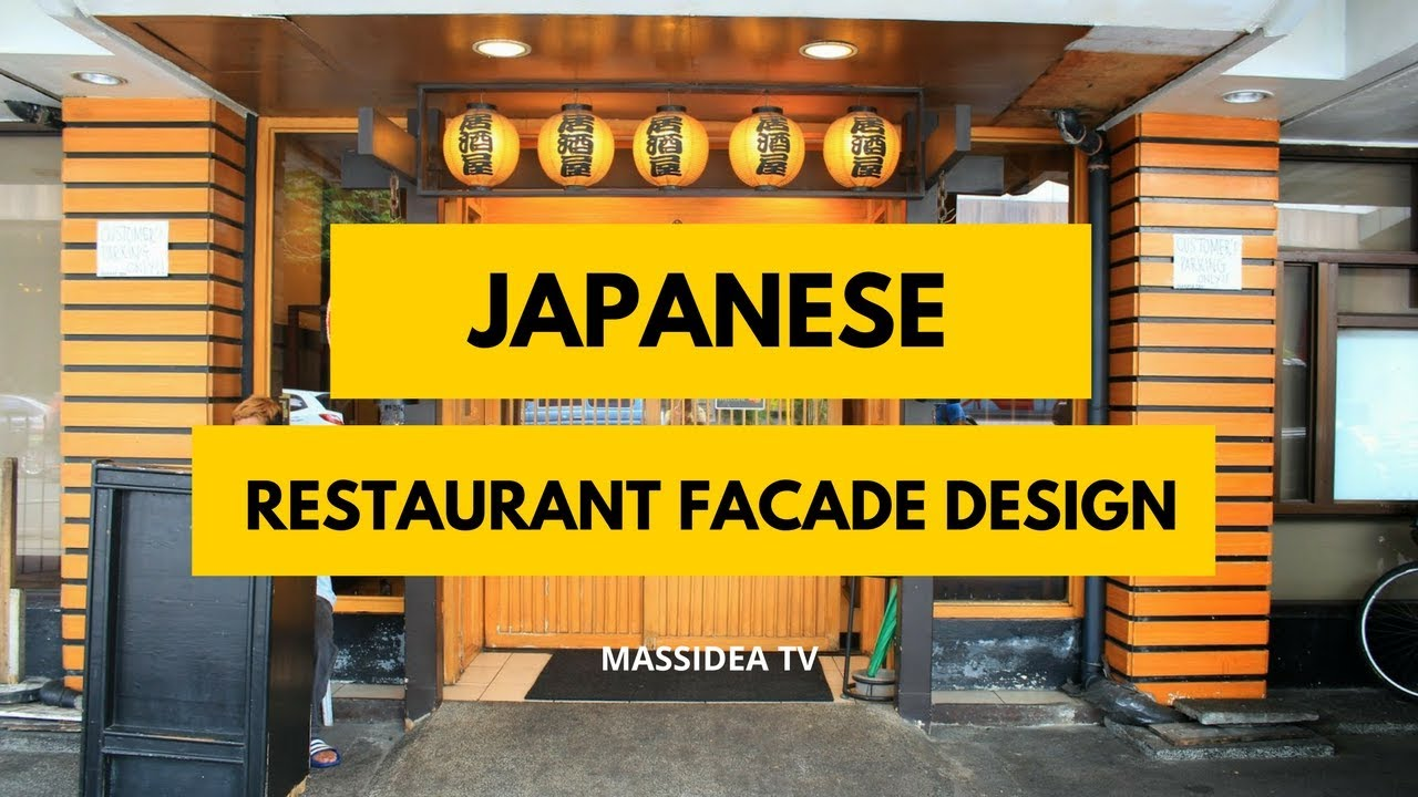 70+ Awesome Japanese Restaurant Facade Design Ideas - YouTube